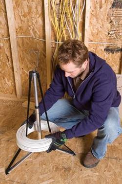 Устройство для размотки кабеля своими руками
